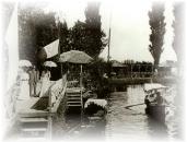 Un domingo en la Isla a principios de siglo.