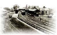 La estación del Ferrocarril Gral. Mitre a principios de siglo.